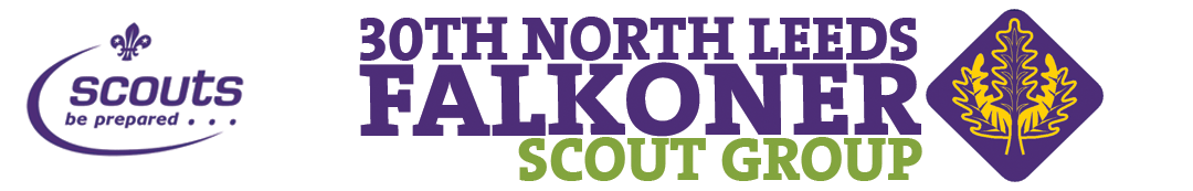 30th North Leeds Falkoner Scout Group Logo